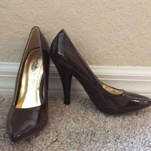 Charlotte Russe Shoes - Brown heels